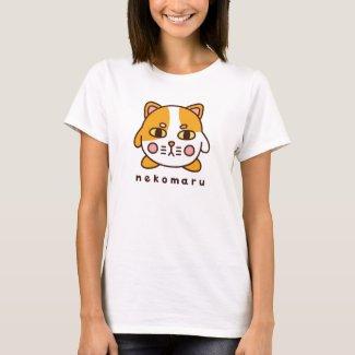 ネコまるレディース Tシャツ