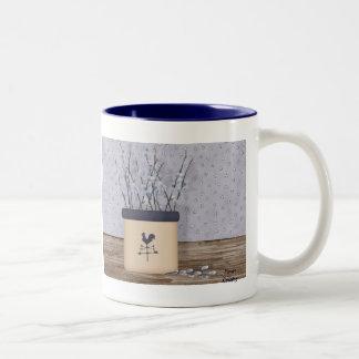 ネコヤナギのマグ ツートーンマグカップ