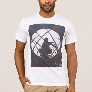 ネコヤナギの日没 Tシャツ
