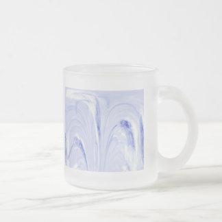 ネコヤナギはガラスマグ-空--を抽出します フロストグラスマグカップ