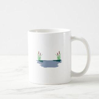 ネコヤナギ場面 コーヒーマグカップ