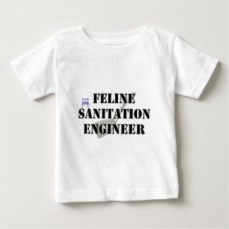 ネコ科の公衆衛生エンジニア ベビーTシャツ