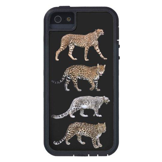ネコ科のTough Xtreme iPhone 5 Case,No.02 iPhone SE/5/5s ケース