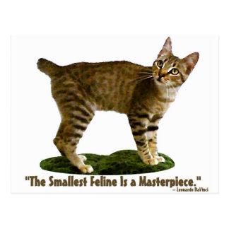 ネコ科Shallestは最高傑作です ポストカード
