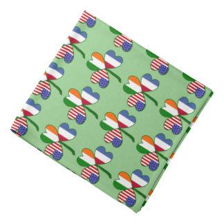 ネザーランド旗のシャムロック バンダナ