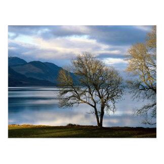 ネス湖、スコットランド ポストカード