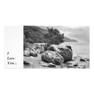 ネス湖B&Wの海岸 カード