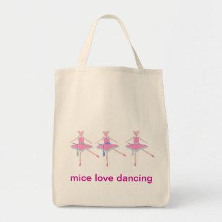 ネズミ愛踊り、トートバック トートバッグ