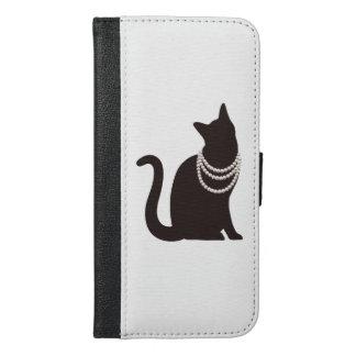 ネックレスの猫 iPhone 6/6s Plusウォレットケース iPhone 6/6s Plus ウォレットケース