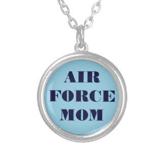 ネックレスの空軍お母さん シルバープレートネックレス