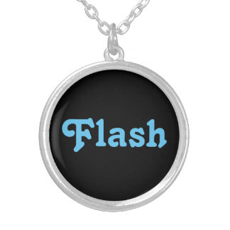 ネックレスのFLAN シルバープレートネックレス