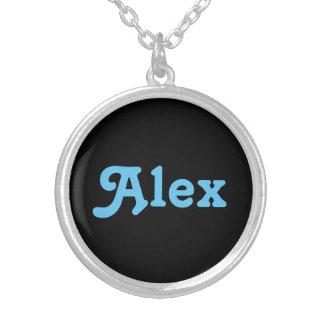 ネックレスアレックス シルバープレートネックレス