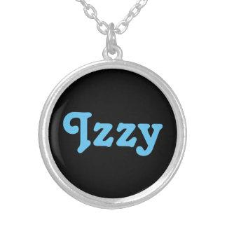 ネックレスIzzy シルバープレートネックレス