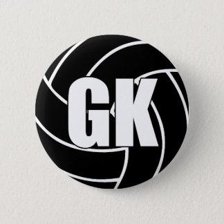ネットボールのゴールの看守GK 缶バッジ