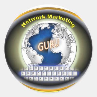 ネットワークのマーケティングプロダクト ラウンドシール