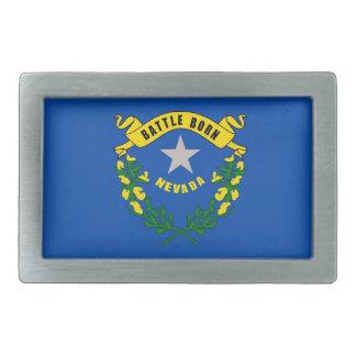 ネバダの国家の旗が付いているベルトの留め金 長方形ベルトバックル