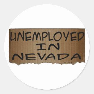 ネバダの失業者 ラウンドシール