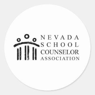 ネバダの学校のカウンセラー連合 ラウンドシール