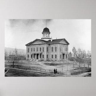 ネバダの州の国会議事堂36x24のプリント ポスター