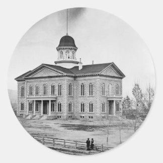ネバダの州の国会議事堂 ラウンドシール