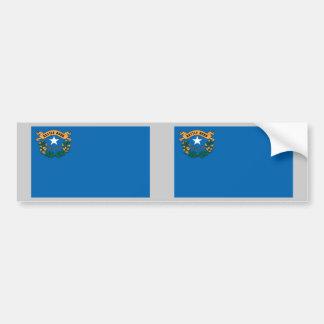 ネバダの州の旗 バンパーステッカー