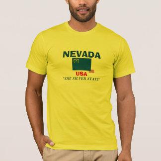 ネバダの旗のワイシャツ Tシャツ