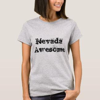 ネバダの素晴らしい引用文の女性のTシャツ Tシャツ