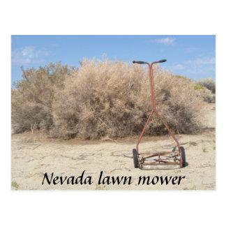 ネバダの芝刈機 ポストカード