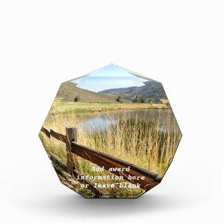 ネバダの荒野賞-個人化して下さい 表彰盾