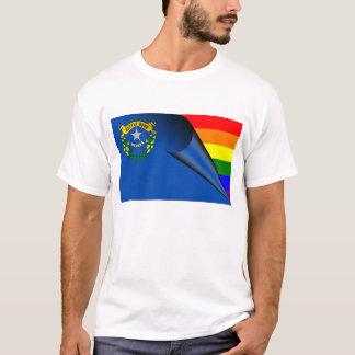 ネバダの虹の旗 Tシャツ