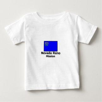 ネバダレノLDSの代表団のTシャツ ベビーTシャツ