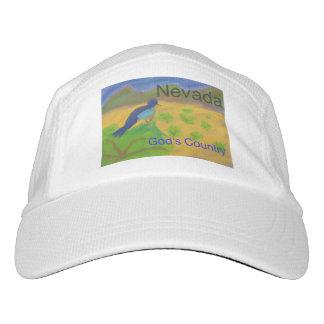 ネバダ山のブルーバードの野球のスタイルの帽子の帽子 ヘッドスウェットハット