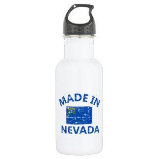ネバダ米国の旗のデザインで作られる ウォーターボトル