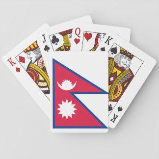 ネパールの国民の世界の旗 トランプ