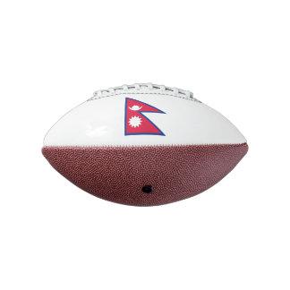 ネパールの小型フットボールの旗 アメリカンフットボール