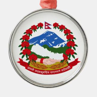 ネパールの紋章付き外衣 メタルオーナメント