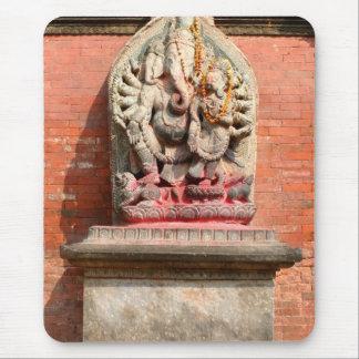 ネパールのGanesh マウスパッド