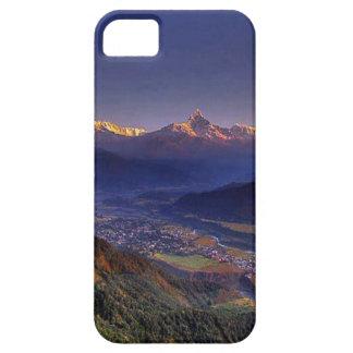 ネパールエベレスト: 氷河、湖、景色の眺め iPhone SE/5/5s ケース