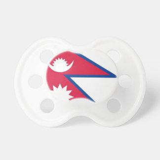 ネパール- नेपालकोझण्डाの旗 おしゃぶり