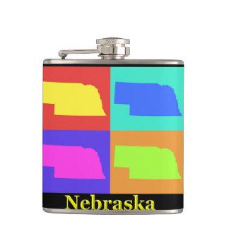 ネブラスカの地図 フラスク