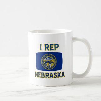 ネブラスカの州のデザイン コーヒーマグカップ