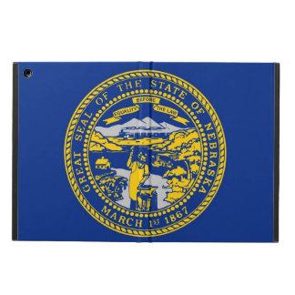 ネブラスカの旗との愛国心が強いipadの場合 iPad airケース