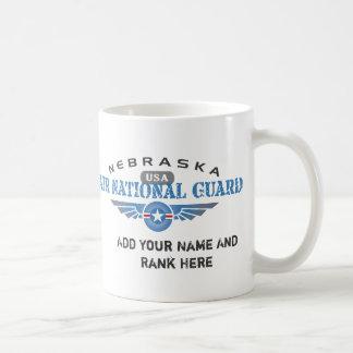 ネブラスカの空軍州兵 コーヒーマグカップ
