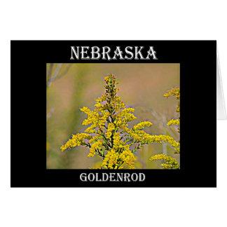 ネブラスカのGoldenrod カード