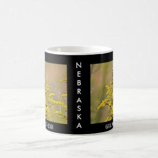 ネブラスカのGoldenrod コーヒーマグカップ