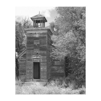 ネブラスカ教会および鐘桜 キャンバスプリント