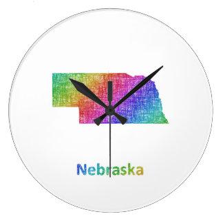 ネブラスカ ラージ壁時計