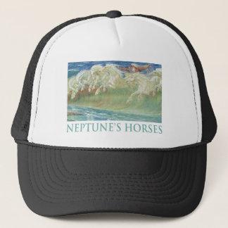 ネプチューンの馬は波に乗ります キャップ