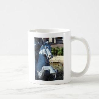 ネプチューンの馬、広場の噴水の詳細 コーヒーマグカップ