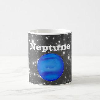 ネプチューン天文学の宇宙の青 コーヒーマグカップ